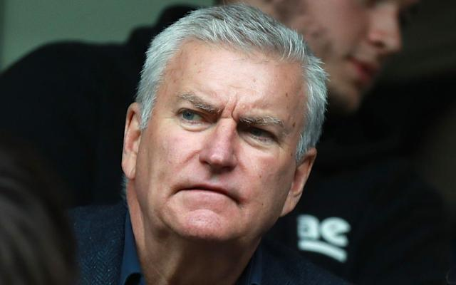 Bill Sweeney watches a Premiership match - GETTY IMAGES