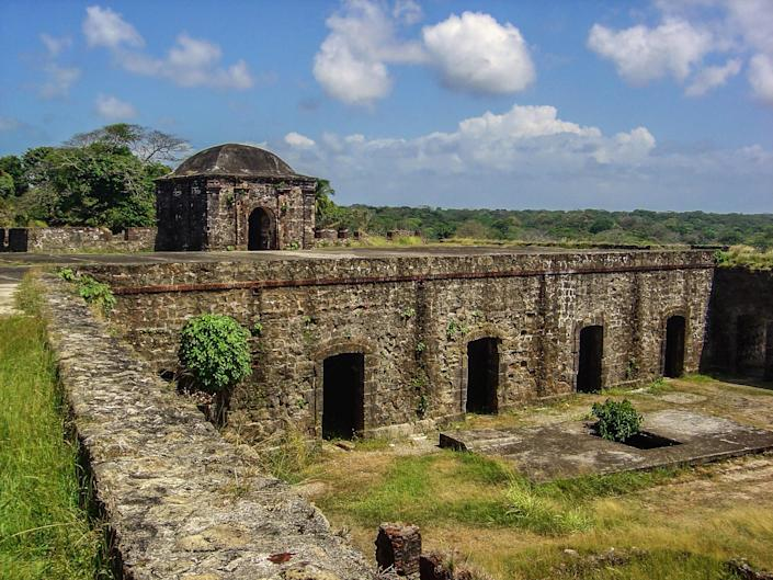 Panama's <strong>Fort San Lorenzo</strong> was built in the 16th century and remains an excellent example of Spanish Colonial Military architecture.