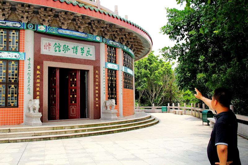 A hall of the Cultural Revolution museum complex in Shantou, China's Guangdong province, on August 8, 2014 (AFP Photo/)