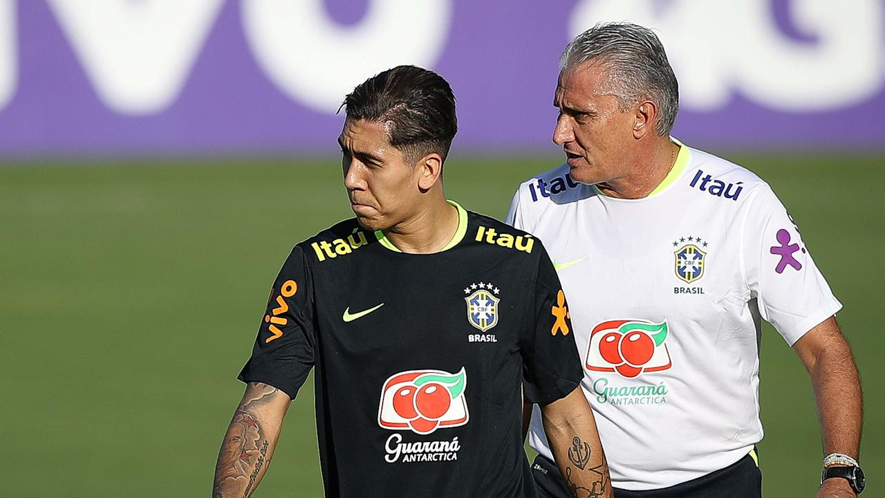 The Selecao boss will be hoping to make is seven consecutive wins in World Cup qualifying when his side meet a Luis Suarez-less Celeste on Thursday