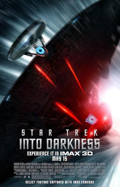 IMAX Poster for Star Trek Into Darkness