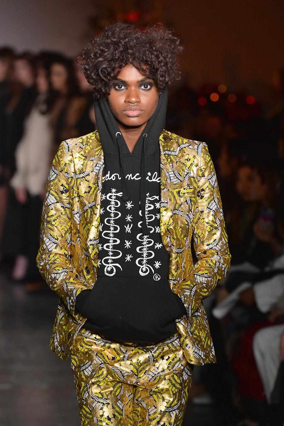 <p>Curls with an interesting shape are always a good look. (Photo: Getty Images) </p>