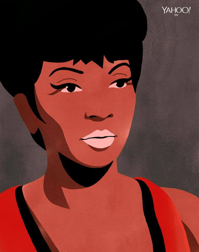 <p><em>StarTrek</em>'s Nichols was one of the first black women to play a featured role on a major series. All hail Lieutenant Uhura! (Credit: Daniel Miller/YahooTV) </p>