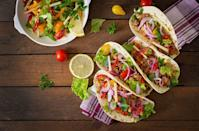 """<p>The best way to kick off Hispanic Heritage Month? Make an authentic, delicious dinner, of course. If you love Mexican food, consider whipping up tacos with your choice of meat, cilantro, diced onions, and green salsa —oh, and don't forget fresh lime juice!</p><p><strong>RELATED:</strong> <a href=""""https://www.goodhousekeeping.com/food-recipes/g3674/best-mexican-recipes/"""" rel=""""nofollow noopener"""" target=""""_blank"""" data-ylk=""""slk:38 Best Mexican Dinner Recipes to Make Tonight"""" class=""""link rapid-noclick-resp"""">38 Best Mexican Dinner Recipes to Make Tonight</a></p>"""