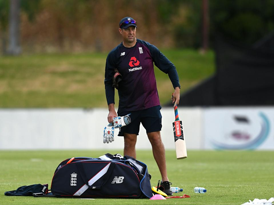 <p>Marcus Trescothick has been appointed as England's elite batting coach</p> (Getty Images)