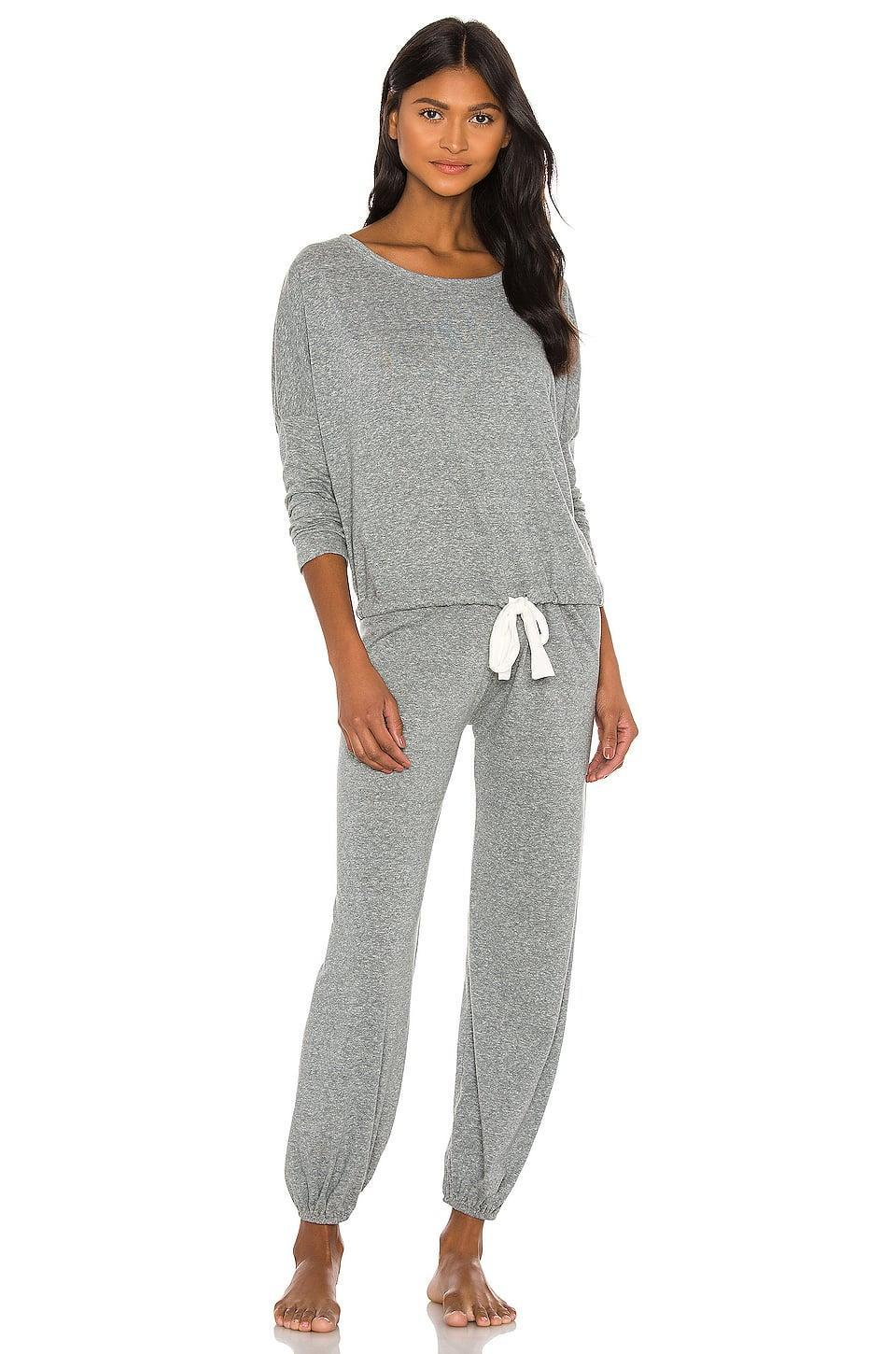 <p>This <span>Eberjey Heather Slouchy Tee</span> ($69) and <span>Pants</span> ($69) makes the cutest comfy set.</p>
