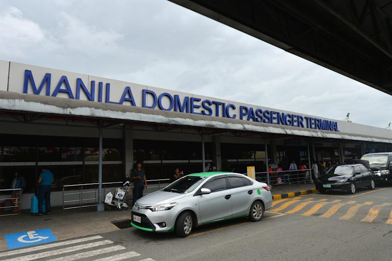A view of Manila Domestic Passenger Terminal at Manila Ninoy Aquino International Airport