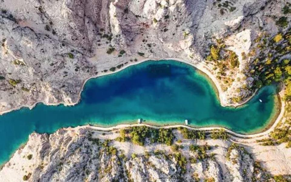 Zavratnica is a long narrow inlet found at the foot of the Velebit Mountains - Getty