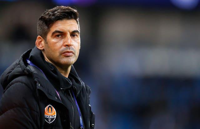 Spurs were close to appointing former Roma boss Paulo Fonseca