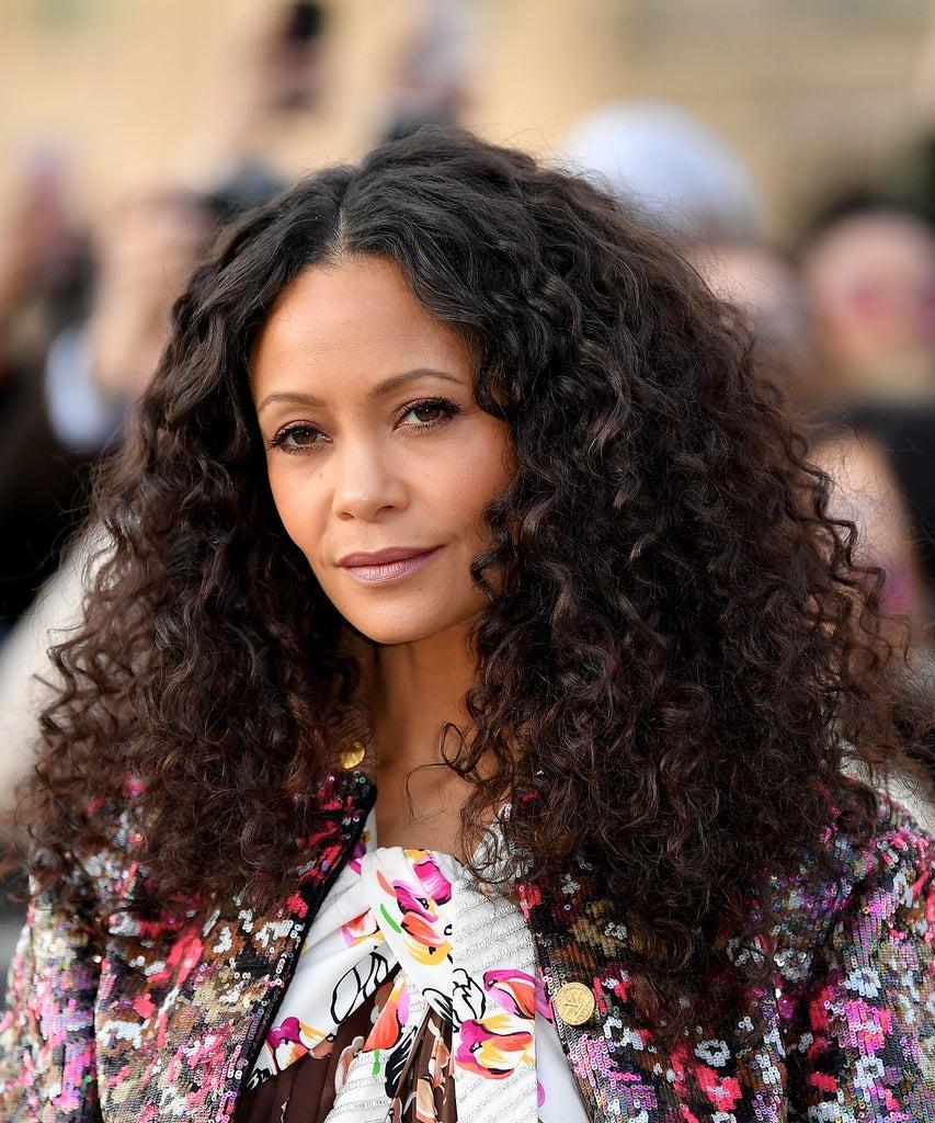 PARIS, FRANCE – MARCH 05: Thandie Newton attends the Louis Vuitton show as part of the Paris Fashion Week Womenswear Fall/Winter 2019/2020 on March 05, 2019 in Paris, France. (Photo by Jacopo Raule/Getty Images)