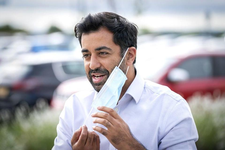 Scottish Health Secretary Humza Yousaf said he was looking for 'more information' from the UK Government. (Jane Barlow/PA)