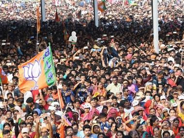 Lok Sabha polls: Political rhetoric may fetch BJP applause at rallies, but may not translate into votes
