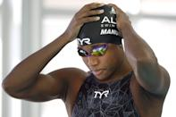 """<p>At the 2016 Rio Olympics, when Simone Manuel became the first Black woman to win an individual gold medal in swimming, she made clear that she hoped she wouldn't be the last - and in the years since then, Manuel has taken bold steps to pave the way for fellow athletes. According to ESPN, <a href=""""https://www.espn.com/espnw/story/_/id/30151773/simone-manuel-olympic-gold-being-first-finding-joy-amid-pandemic-social-reckoning"""" class=""""link rapid-noclick-resp"""" rel=""""nofollow noopener"""" target=""""_blank"""" data-ylk=""""slk:Manuel put an inclusion rider in her contract"""">Manuel put an inclusion rider in her contract</a> with swimsuit brand TYR Sport, to help ensure that the company extends opportunities to underrepresented groups. It's believed to be the first inclusion rider in pro sports.</p>"""