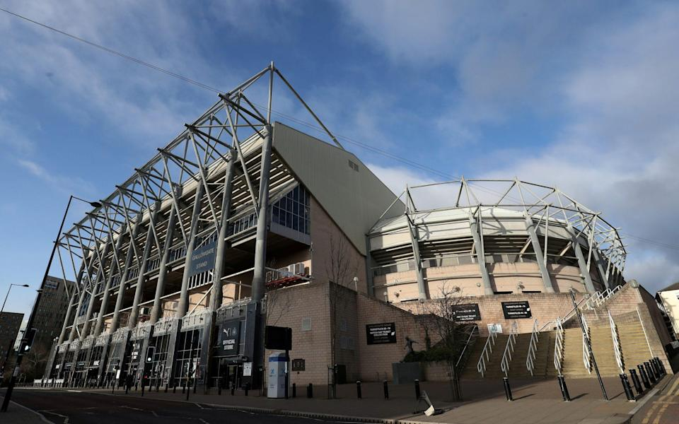 Newcastle United v Norwich City - St James' Park, Newcastle, Britain - February 1, 2020 General view outside the stadium before the match - REUTERS