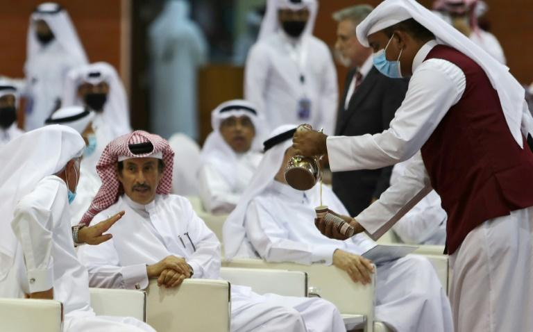 The Shura will be allowed to propose legislation, approve the budget and recall ministers, but the all-powerful emir will wield a veto (AFP/KARIM JAAFAR)
