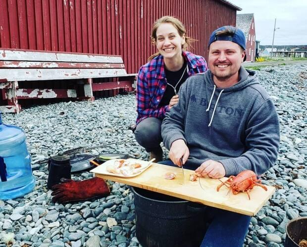 Bonnie Stagg and her husband, Jordan Stagg, operate the Bonavista Adventure Tours company in Bonavista.  (Bonavista Adventure Tours/Facebook - image credit)