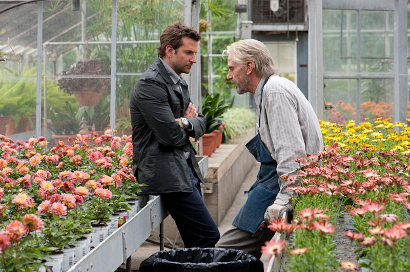 """This film image released by CBS Films shows Bradley Cooper and Jeremy Irons in a scene from """"The Words."""" (AP Photo/CBS Films, Jonathan Wenk)"""