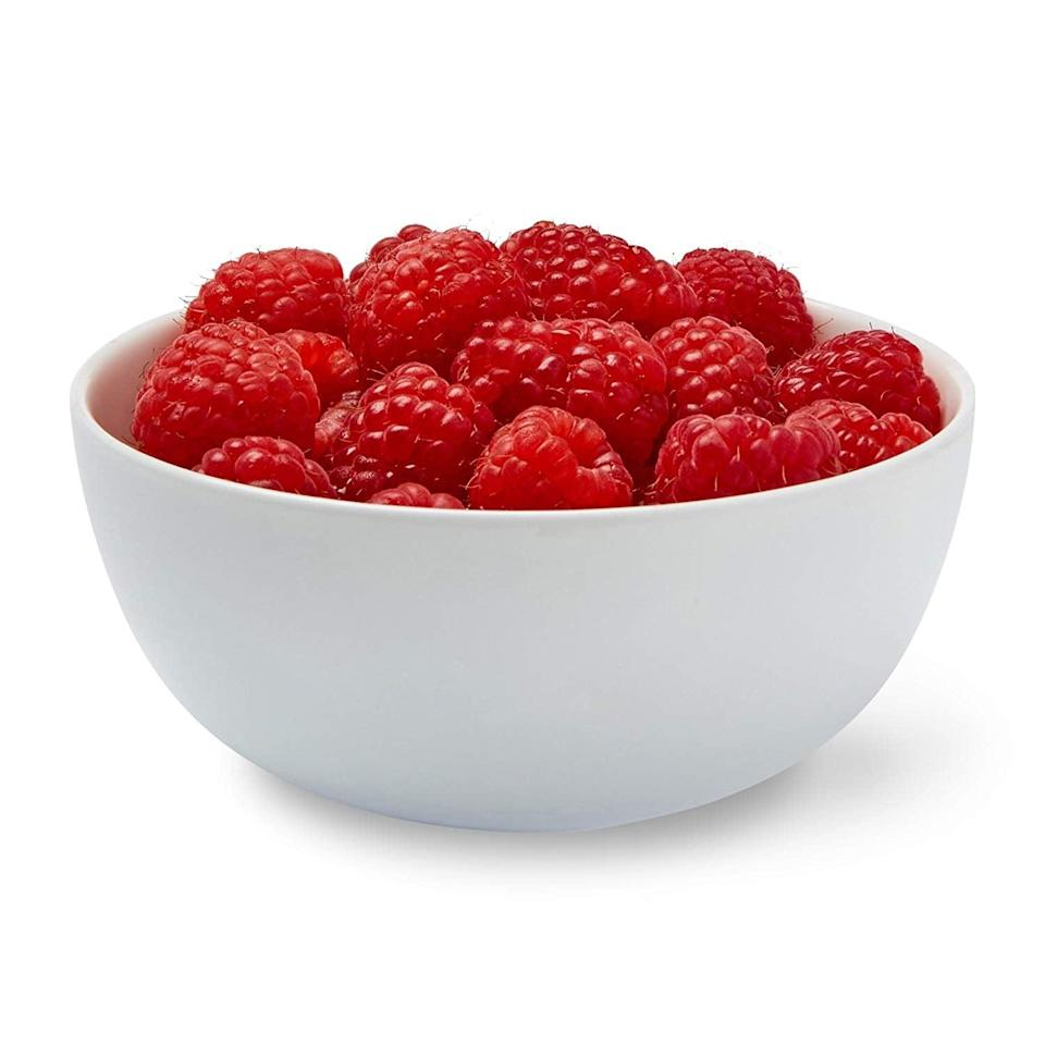 <p>I've also started to rely on fruit as a sweet afternoon snack. <span>Red Raspberries</span> ($3) are my personal favorite, and they're relatively easy to find all year round.</p>