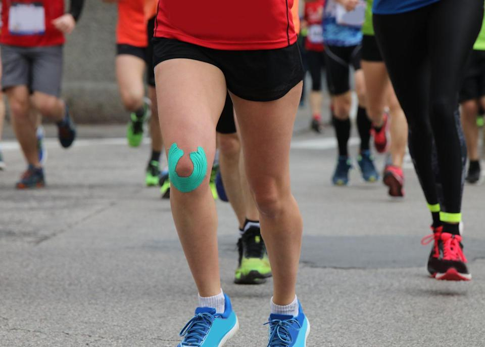"""<p>Nothing gets us going like talking about our busted ankles, wobbly <a href=""""https://www.runnersworld.com/uk/health/injury/a773762/4-causes-of-knee-pain-and-how-to-fix-them/"""" rel=""""nofollow noopener"""" target=""""_blank"""" data-ylk=""""slk:knees"""" class=""""link rapid-noclick-resp"""">knees</a>, and <a href=""""https://www.runnersworld.com/uk/health/injury/g771058/injury-runners-lower-back-pain/"""" rel=""""nofollow noopener"""" target=""""_blank"""" data-ylk=""""slk:achy backs"""" class=""""link rapid-noclick-resp"""">achy backs</a>. A room full of runners has more tales of medical emergencies than a season of Grey's Anatomy.</p>"""