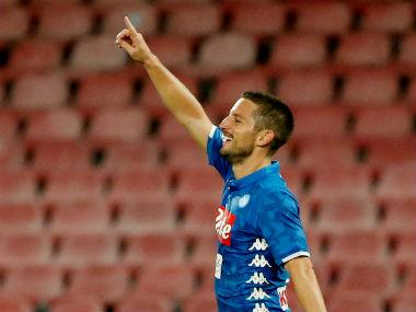 Serie A: Dries Mertens scores hat-trick as second-placed Napoli thrash Empoli 5-1 to put pressure on leaders Juventus