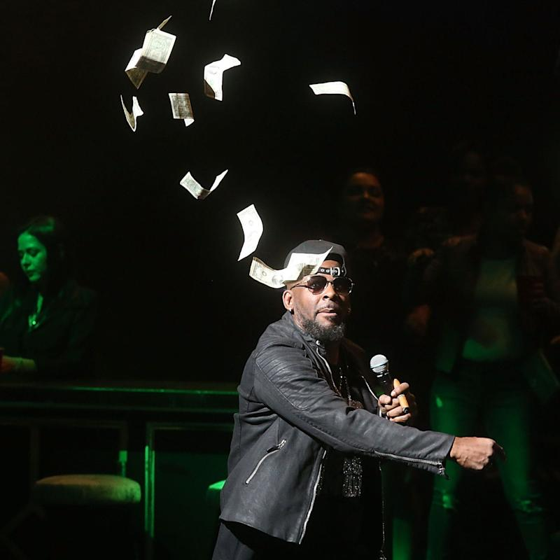 R. Kelly performs in Austin, Texas in March - Credit: Getty