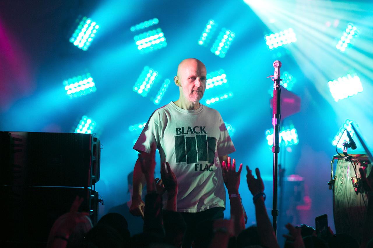 <p>Moby has been making music and performing since the 1990s and regularly produces albums for other stars (Gabriel Olsen/FilmMagic via Getty Images) </p>