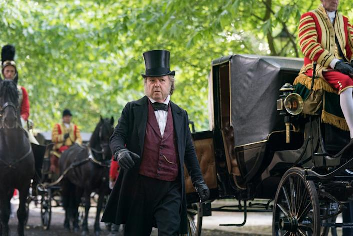 As Lord John Russell in ITV's series Victoria (2019) - ITV/Shutterstock