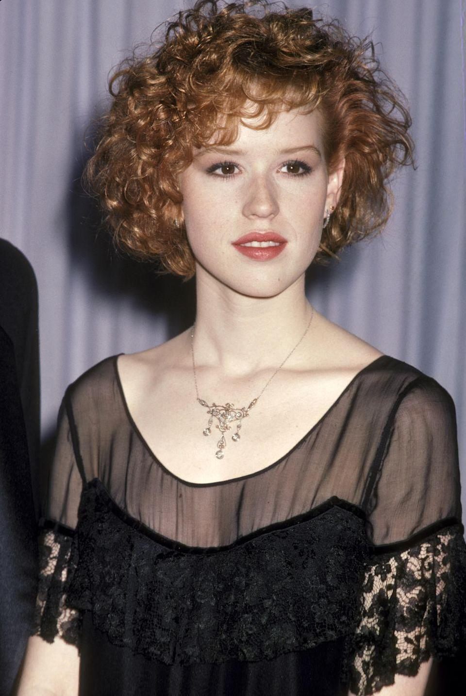<p>When Molly Ringwald showed up with her glorious mess of red curls, the world fell in love.</p>