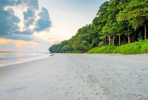 A beach on Havelock Island - Credit: ALAMY
