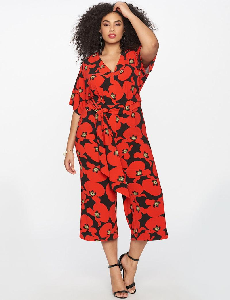 "Get it on <a href=""http://www.eloquii.com/wide-leg-printed-jumpsuit/1326006.html?cgid=jumpsuits&start=1&dwvar_1326006_colorCode=16"" target=""_blank"">Eloquii for $140</a>."