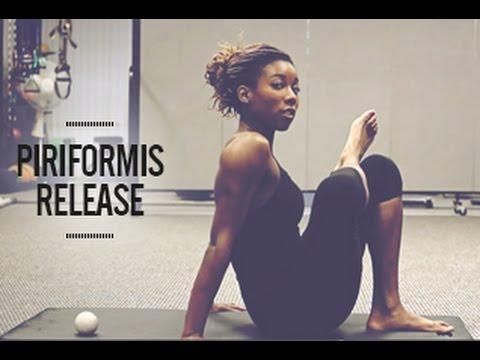 """<p>Personal trainer Kai Simon shows you how to perform Piriformis Myofascial release on aching glute and hip muscles. </p><p><a href=""""https://www.youtube.com/watch?v=dl474z1bhnk&ab_channel=KaiSimon"""" rel=""""nofollow noopener"""" target=""""_blank"""" data-ylk=""""slk:See the original post on Youtube"""" class=""""link rapid-noclick-resp"""">See the original post on Youtube</a></p>"""