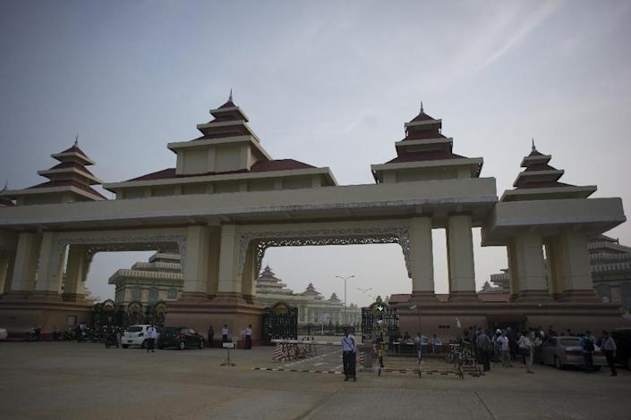 Myanmar's parliament is situated in Naypyidaw (AFP Photo/Ye Aung Thu)