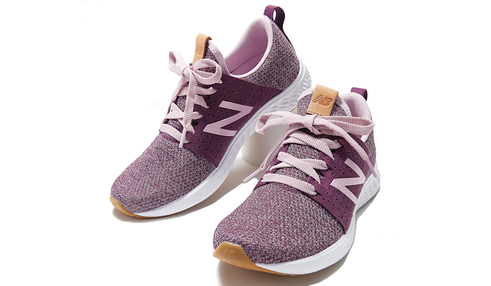 Game on! We've got sporty chic (and comfort) on lock with these New Balance sneaks. (Photo: QVC)