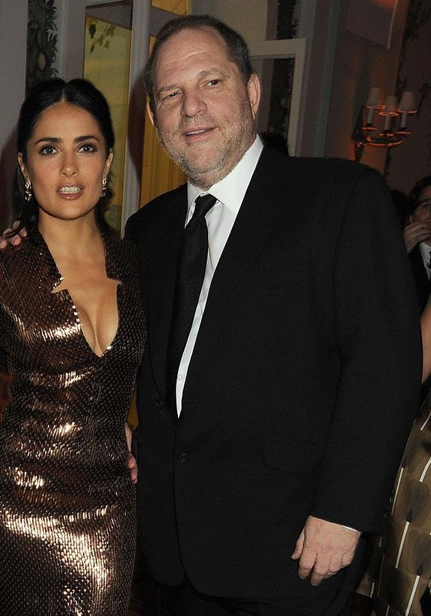 After saying 'no' to him multiple times, Weinstein made her suffer in another way while shooting the movie Frida. Source: Getty