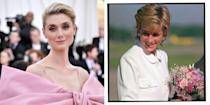 """<p><strong>Who plays Princess Diana in The Crown season 5?</strong></p><p><strong><strong>Elizabeth Debicki: </strong></strong>In August, Netflix announced that they had also found their Princess Diana for the final seasons of the series. Best known for her part as Jordan Baker in Baz Luhrman's The Great Gatsby opposite Leonardo DiCaprio and <a href=""""https://www.elle.com/uk/life-and-culture/a35332956/carey-mulligan-promising-young-woman-review-margot-robbie/"""" rel=""""nofollow noopener"""" target=""""_blank"""" data-ylk=""""slk:Carey Mulligan"""" class=""""link rapid-noclick-resp"""">Carey Mulligan</a>, Debicki said it was a 'true privilege' to be portraying the Princess of Wales.</p>"""