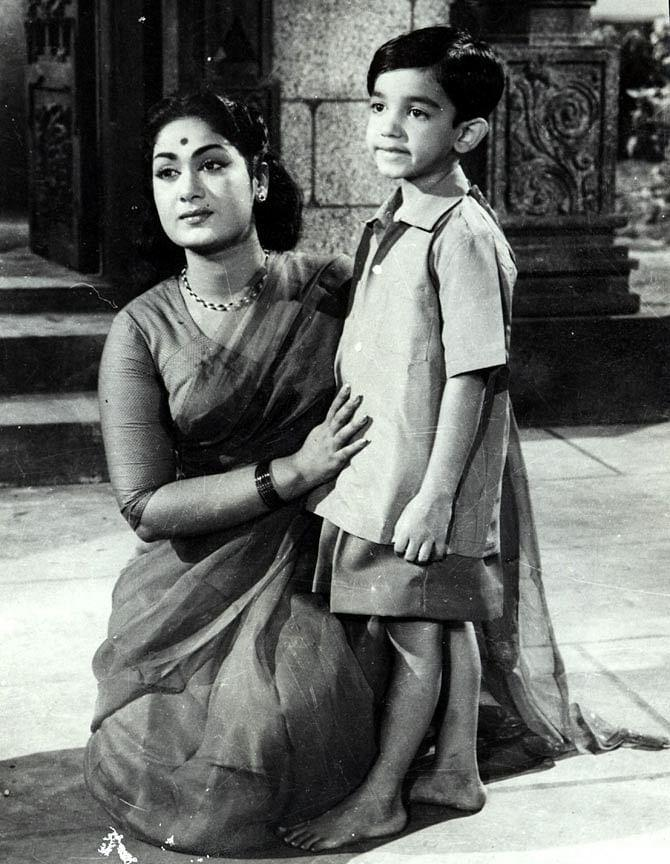 He started his career as a child artist at the age of six in the film Kalathur Kannamma.