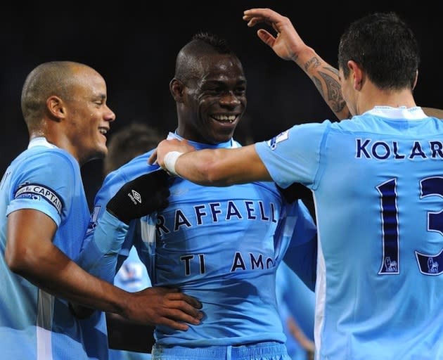 official photos d2092 ae988 Mario Balotelli's celebratory shirt originality is on the ...