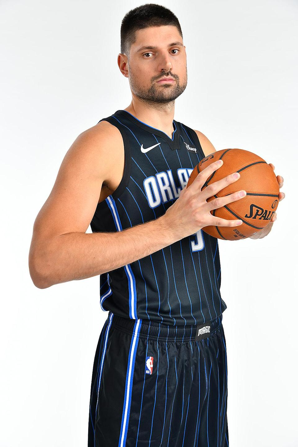 <p>Vucevic, of the Orlando Magic, is a two-time NBA All-Star selection.</p>