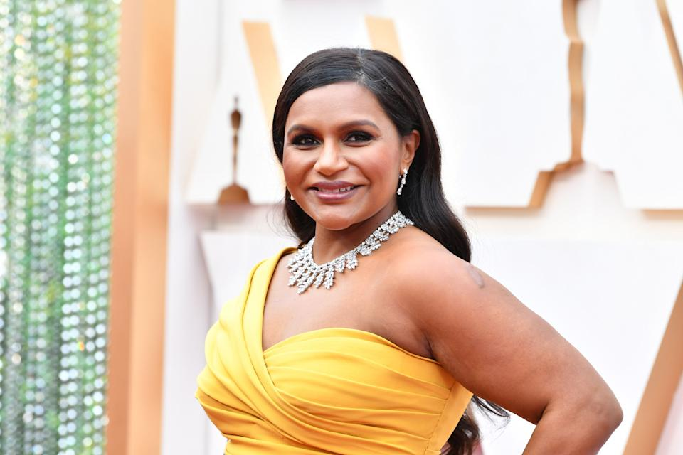 Mindy Kaling is mom to 8-month-old Spencer and 3-year-old Katherine. (Photo: Amy Sussman via Getty Images)