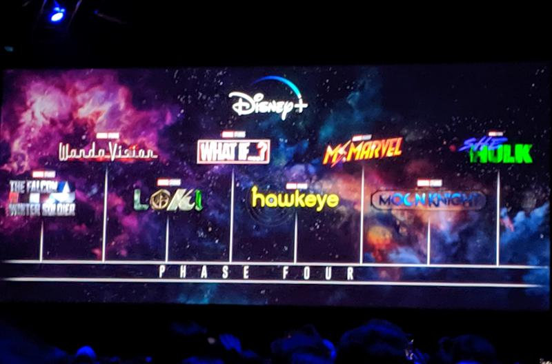 The full MCU Disney+ series line-up revealed (Credit: Hanna Flint)