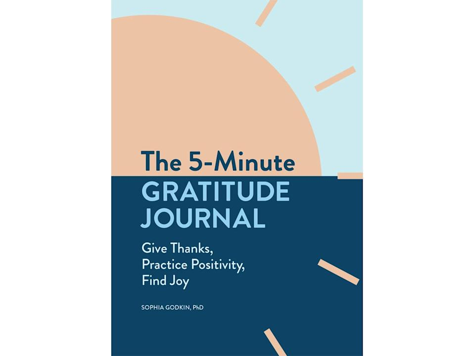 Best anxiety journals Five Minute Gratitude Journal