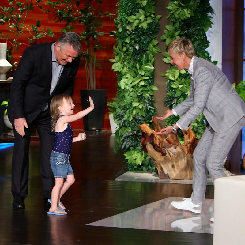 Alec Baldwin's Daughter Carmen Dances Her Little Tush Off on The Ellen Show