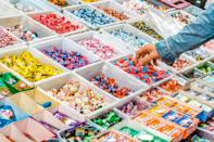 <p>One of the best parts of Valentine's Day is indulging in sweets. Rather than having a traditional meal, pack you and your significant other's favorite chocolates and candy and munch on those all throughout your car date.</p>