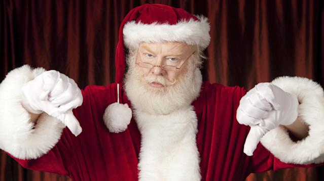 Britain's National Trust has told Santa Claus to get back on his sleigh and get out of town, or at least out of the organization's famous estates and homes.
