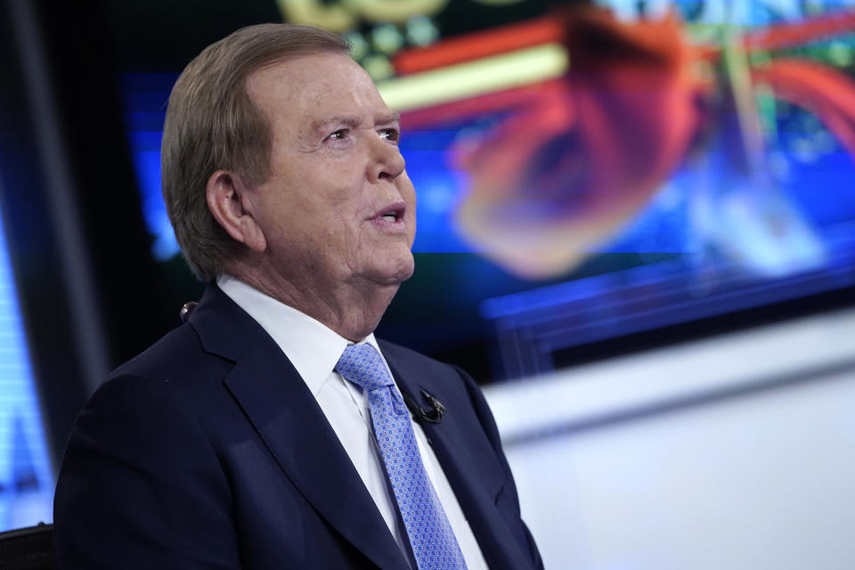 Fox anchor Lou Dobbs during