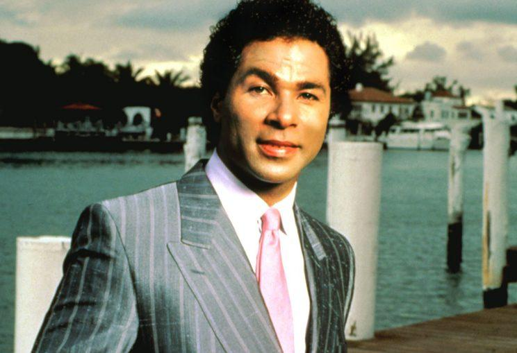 Philip Michael Thomas on 'Miami Vice' (Photo: Everett)