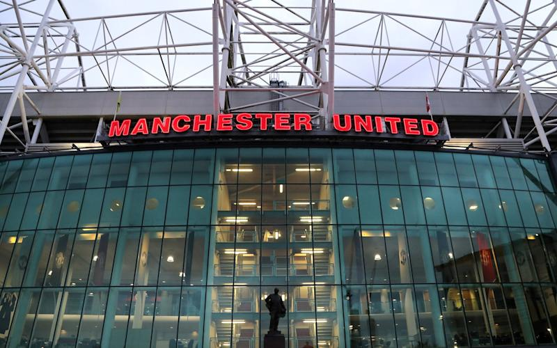 Old Trafford in 2020 - PA