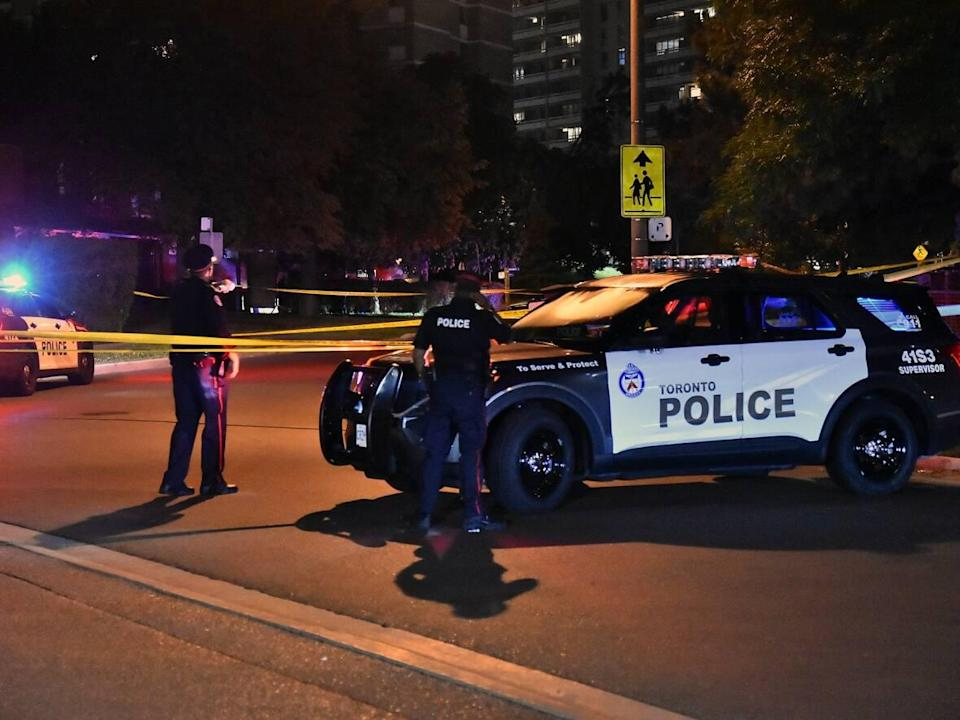 Toronto police say the girl was arrested Wednesday in connection with the death of Caden Francis, 16, who died after a shooting in Scarborough.  (Jeremy Cohn - image credit)