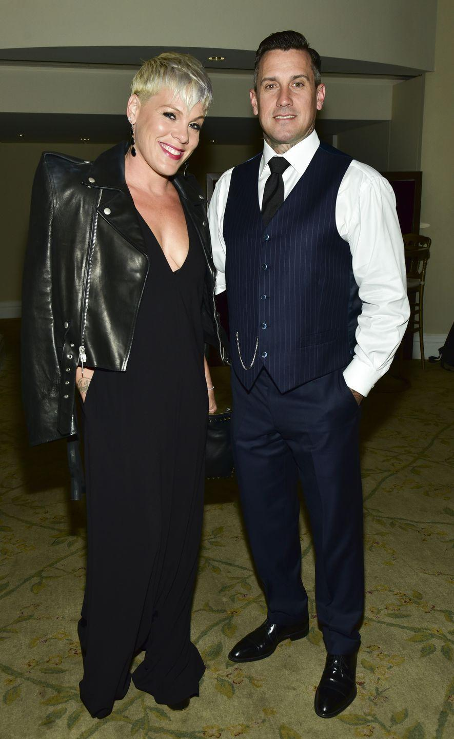 <p>Although Carey strayed back in 2008, Pink ended up sticking by her man, thinking he'd be a great father and husband moving forward. They've been through a few hurdles—break ups, cheating rumors, marriage, and a separation—yet they found their way back, and are now raising their two children together.</p>