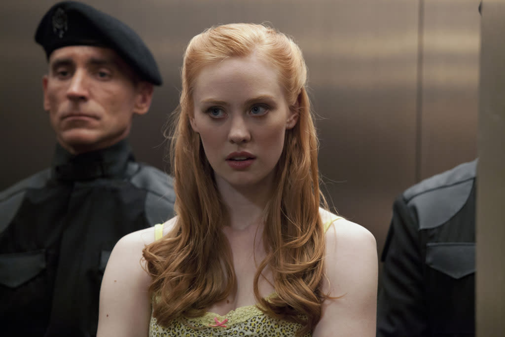 "Deborah Ann Woll in the ""True Blood"" episode, ""Gone, Gone, Gone."""